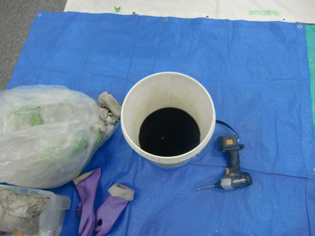 業務用エアコン洗浄工程